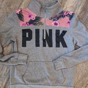 Pink VS half zip.